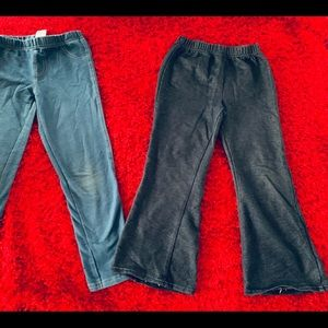 TWO pairs of jeggings 5T